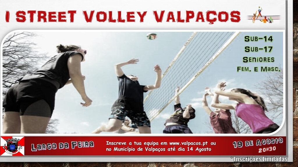 I Street Volley - Cartaz
